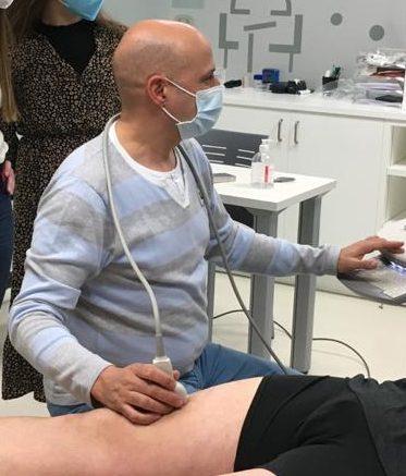 JAVIER ÁLVAREZ GONZÁLEZ docente curso ecografía fisioterapia fisiogds 2022