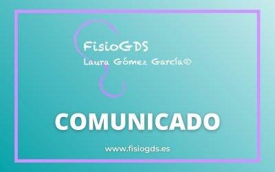 Comunicado: aclaración sobre el trabajo de Laura Gómez y FisioGDS
